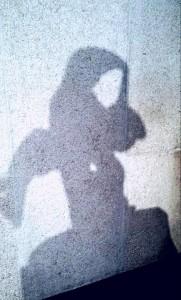 femme ombre bleue 2